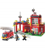 Полиция, пожарные
