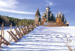 Пазлы Castorland Деревянная Церковь Кижи