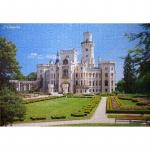 Пазлы castorland Замок Глубока, Чехия