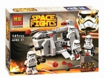 конструктор SPACE FIGHTS арт 10365