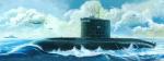 """Подводная лодка  """"Варшавянка"""" (1:144)"""