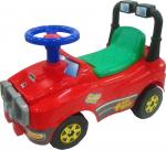 Автомобиль Джип-каталка (красный)  музыкальный