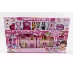 Дом для кукол My Happy Family с аксессуарами