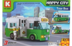 Конструктор - автобус Happy City 3 в 1