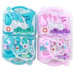 Игровой набор Доктора в чемодане (розовый и голубой)