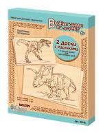 Набор досок для выжигания А5 и А4 «Тираннозавр, Трицератопс», 4 штуки