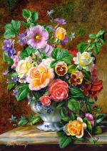 Пазлы Castorland Цветы в вазе