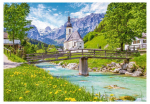 Пазлы Konigspuzzle Германия. Церковь Св.Себастьяна