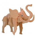 """Сборная деревянная модель """"Слон"""""""