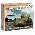M4A2 US medium tank (M4A2 «Шерман» Американский средний танк)