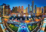 Пазлы Castorland Район Марина.Дубай