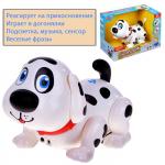 "Интерактивная игрушка Play Smart собачка ""Лакки"" на батарейках, в коробке"
