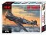 Bf 109E-4 Второй мировой войны немецкий ночной ист ICM(АйСиЭм)