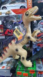 Динозавр из винила РЕКС со звуком