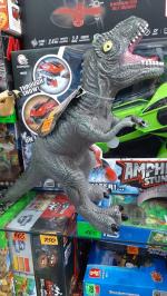 Динозавр из винила со звуком
