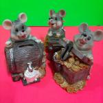 Керамические сувенирные Мышки-копилки