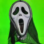 """Карнавальная маска """"Крик"""" с капюшоном"""