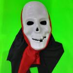 """Карнавальная маска """"Череп"""" с капюшоном"""