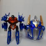 Робот-трансформер «Автобот» с маской, оружием и аксессуарами
