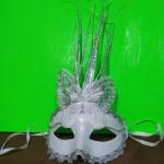 Карнавальная женская маска на пол лица