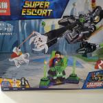 """Конструктор Lepin Super Escort """"Супермен и Крипто объединяют усилия"""""""