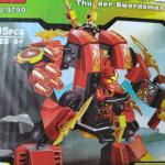 Конструктор BELA Ninja Огненный робот Кай