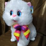 """Мягкая игрушка """"Белая Кошечка"""""""