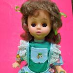 Кукла детская, в голубом платье