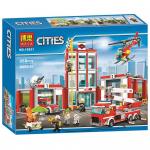 Конструктор BELA Cities Пожарная часть