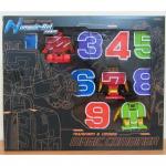 Набор трансформеров Magic Combiner, Цифры трансформеры от 0 до 9