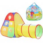 Детская игровая палатка с тоннелем арт 889-175В