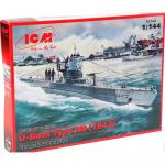 Немецкая подводная лодка IIB, 1943 (1:144)