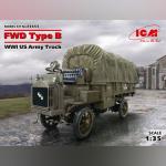 FWD Type B Грузовик армии США IMB