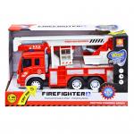 Машина инерционная Пожарная арт WY297S