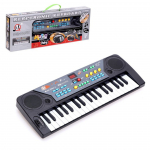 Синтезатор «Музыкант», 37 клавиш, с микрофоном, радио