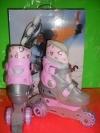 Детские ролики action устойчивые 3-х колесные 26-29 р-р action