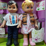 Набор из двух кукол девочка и мальчик