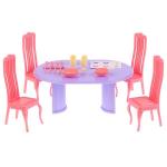 """Набор мебели  для столовой """"Маленькая принцесса"""" розовая"""