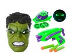 Набор маска героя и оружие.