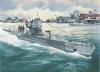 Немецкая подводная лодка тип IIB (1:144) Моделист