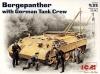 Бергепантера с немецким танковым экипажем ICM(АйСиЭм)