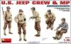 Американский экипаж джипа и военная полиция MiniArt
