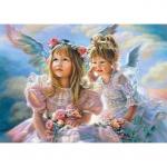 Пазлы Castorland Девочки-Ангелы