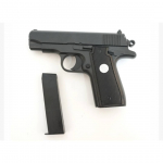Пистолет софтэйр Galaxy G.2 пружинный, цвет: черный, 6 мм