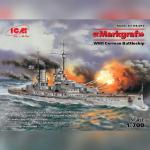 «Маркграф», Германский линейный корабль (1:700)