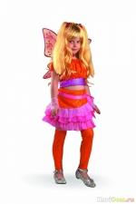Новогодний костюм Winx Stella 6-9лет